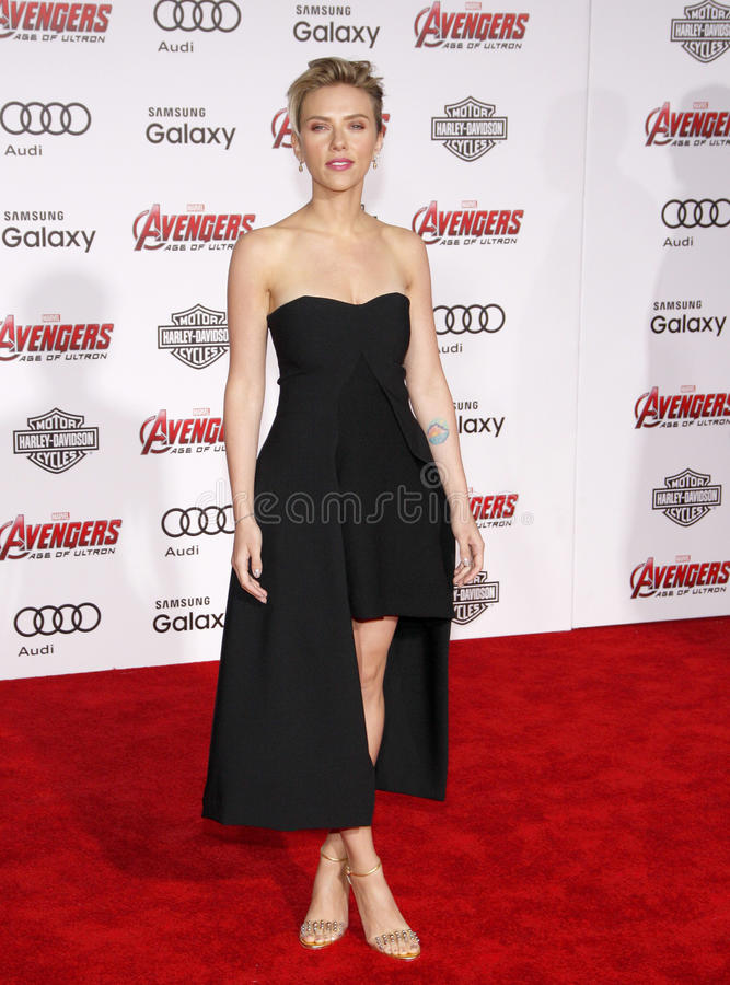Scarlett Johansson obraz stock