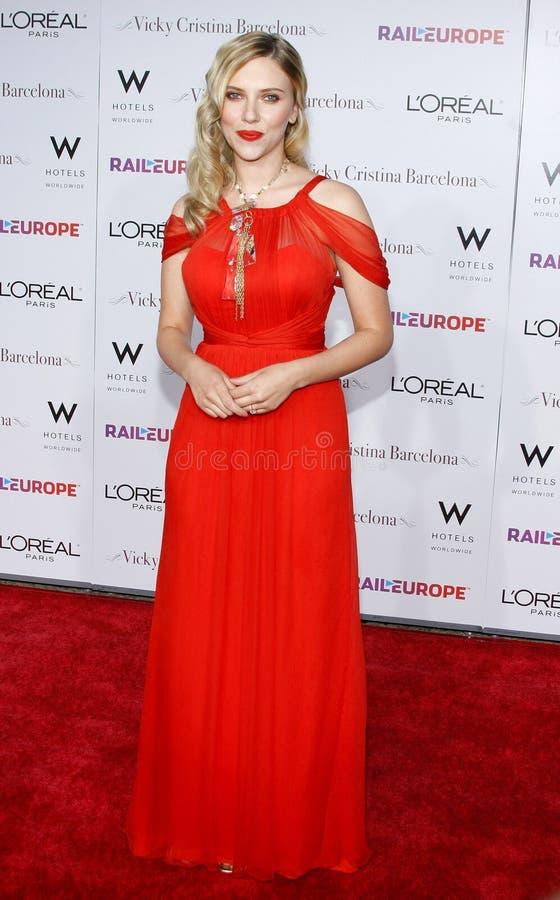 Scarlett Johansson stock foto