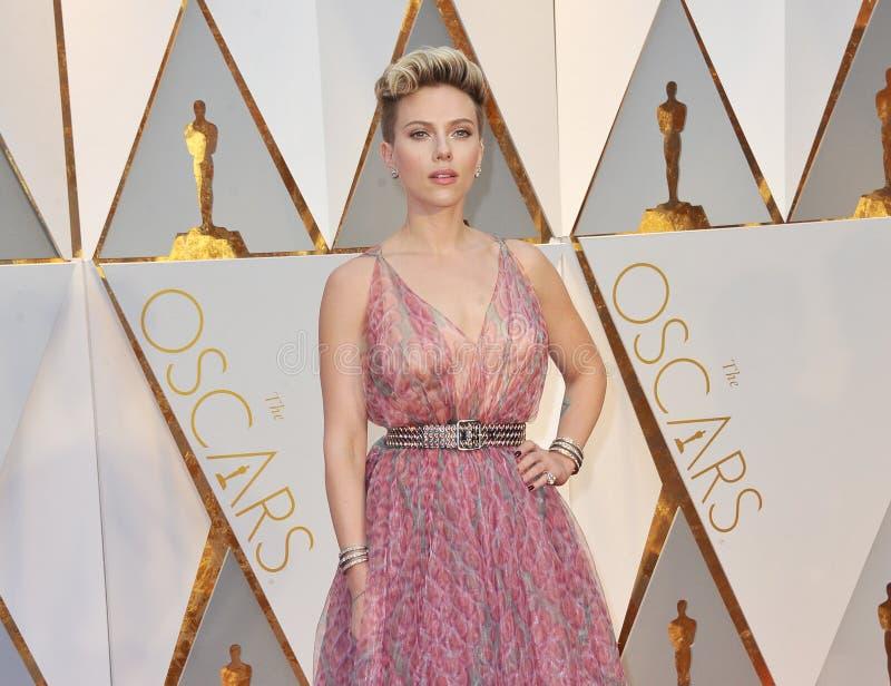 Scarlett Johansson immagini stock