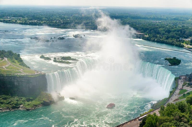 Scarpa del cavallo di cascate del Niagara immagine stock