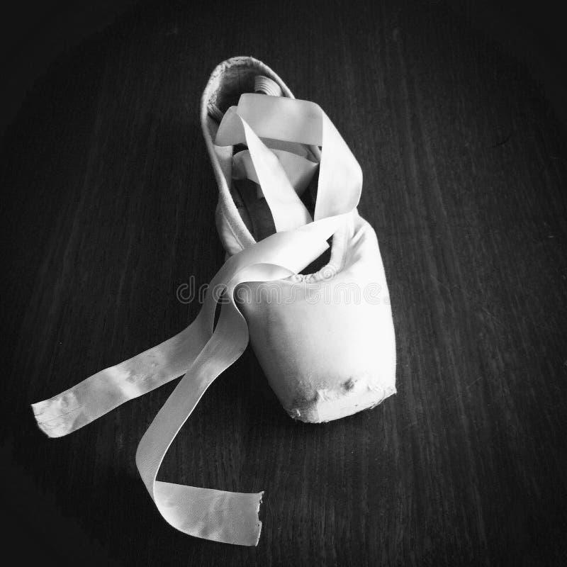 Scarpa di balletto classica fotografia stock