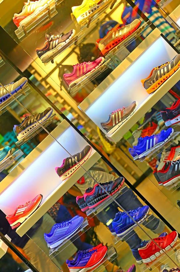 Scarpe di Adidas fotografia stock