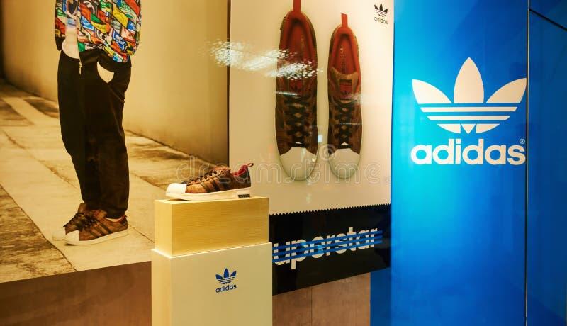 Scarpe di Adidas fotografie stock libere da diritti