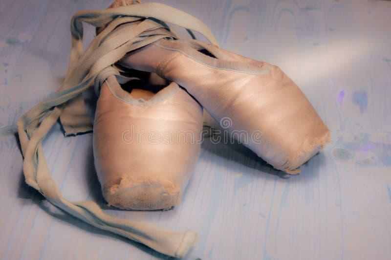 Scarpe di balletto fotografie stock