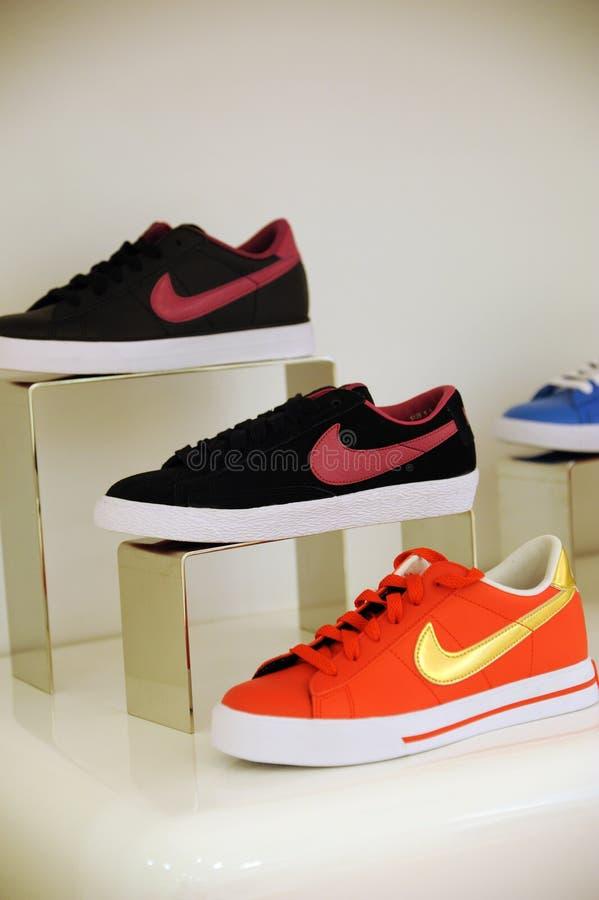 Scarpe di Nike fotografie stock