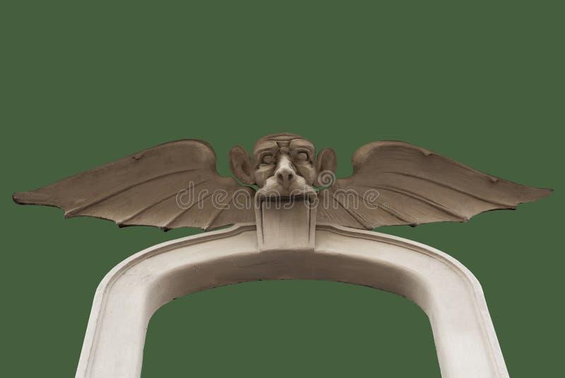Scarry gothic istota ilustracja wektor