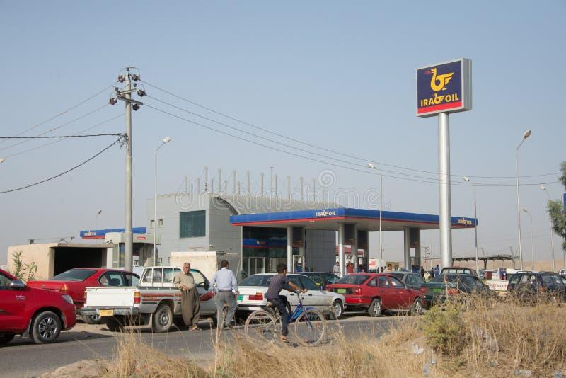 Scarsità del combustibile fotografia stock