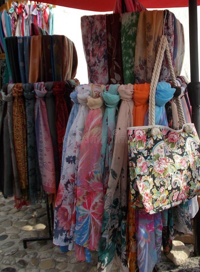 scarves arkivbild