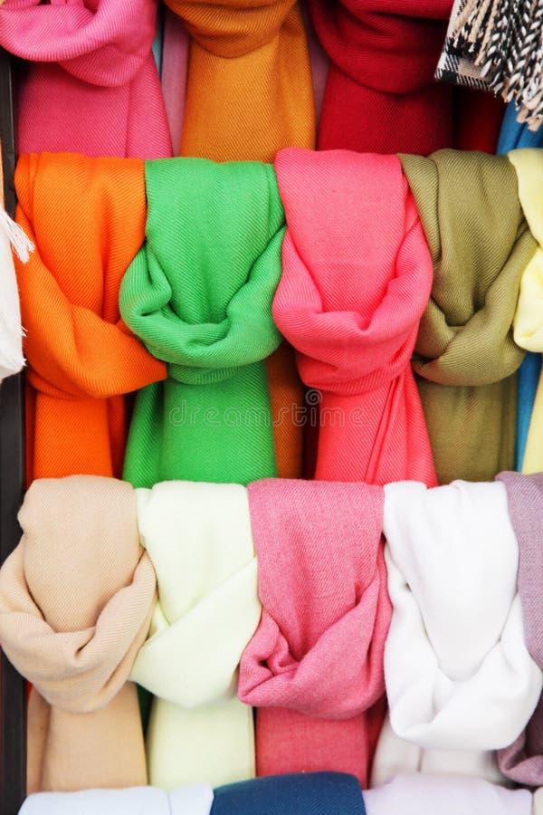 scarves zdjęcie stock