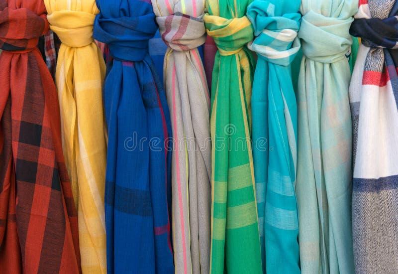 scarves royaltyfri bild