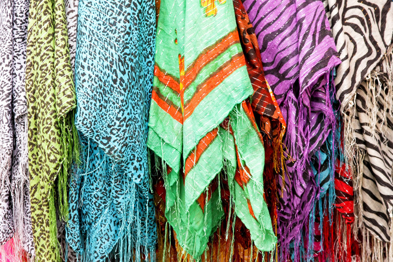 scarves fotografering för bildbyråer