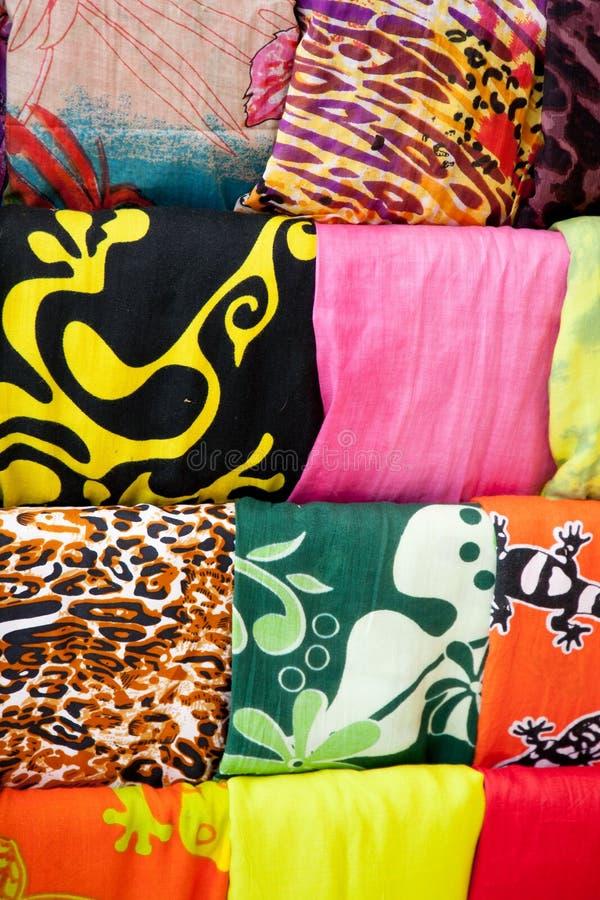 scarves royaltyfri foto