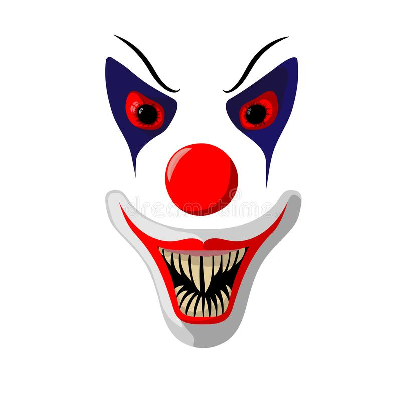 Scary Clown Face Home Business Office Sign