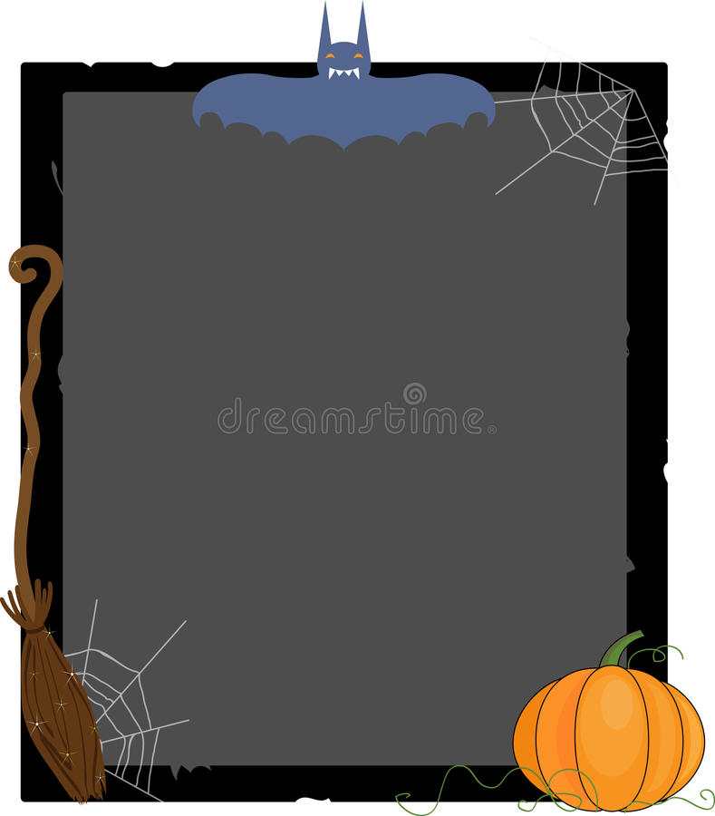 Scary frame royalty free stock image