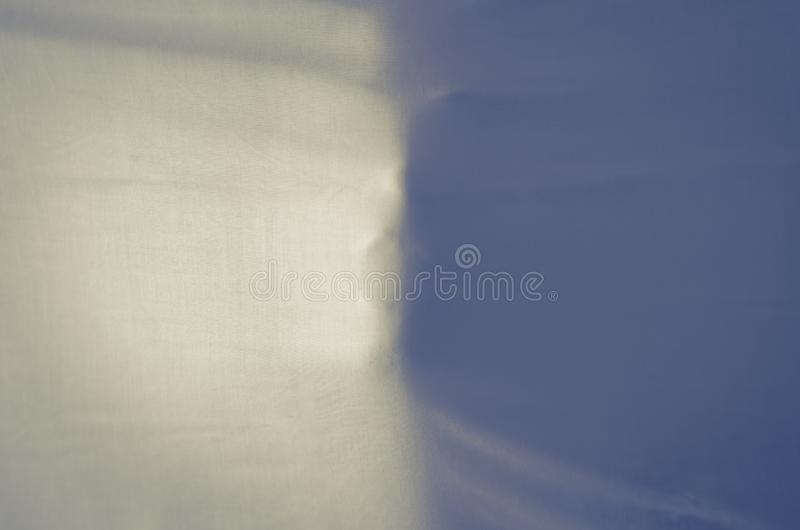 Ghost face on white cloth sheet background. royalty free stock image