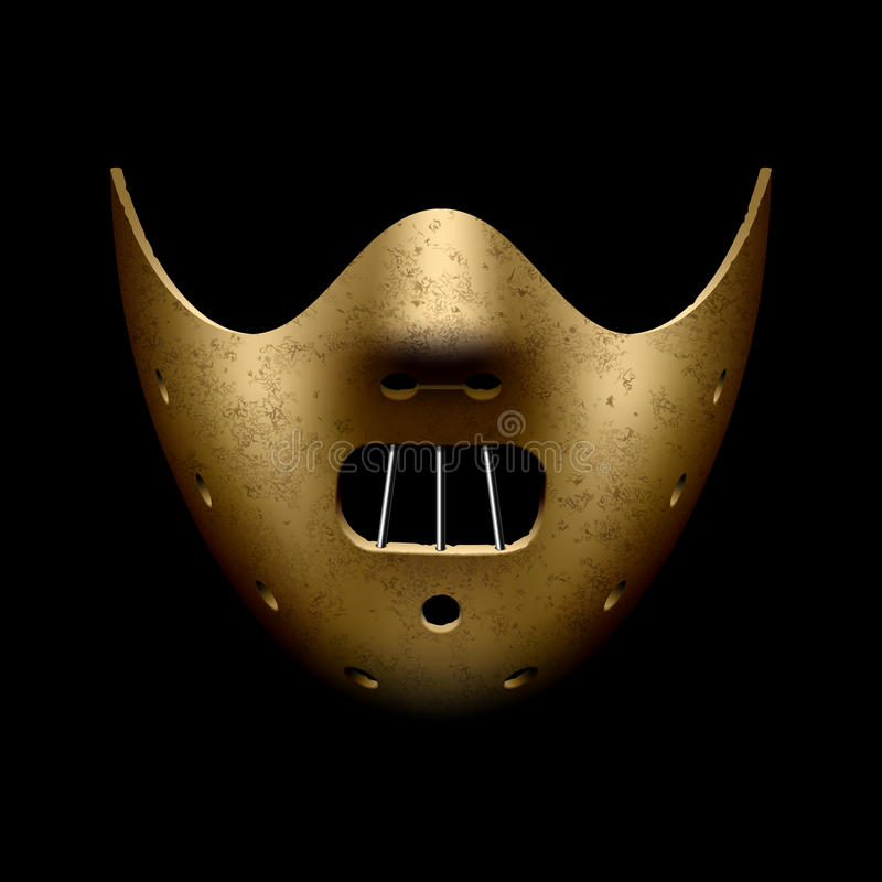 Scary Halloween Mask Stock Photos