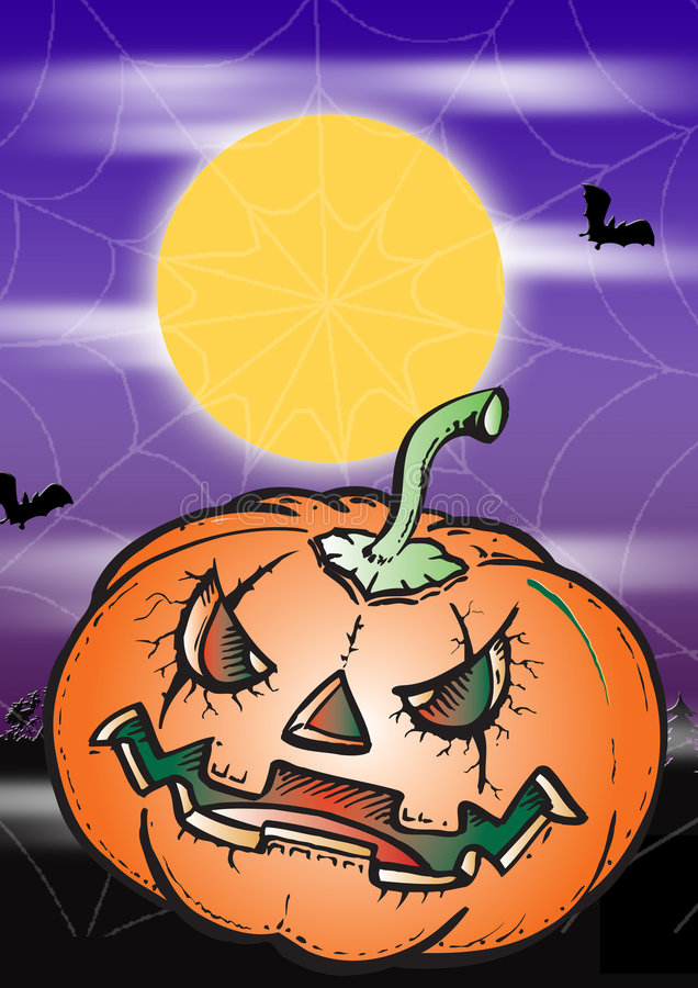Download Scary Halloween Pumpkin Stock Photography - Image: 2990482