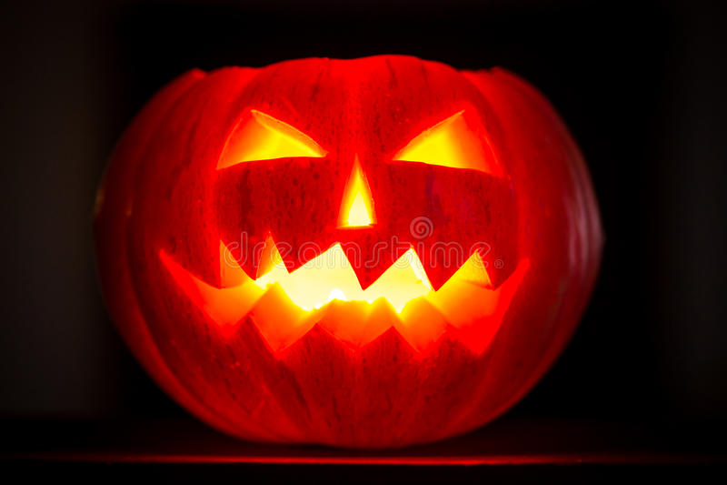 scary halloween pumpkins jack o lantern candle lit royalty free stock photos - Free Scary Halloween Images