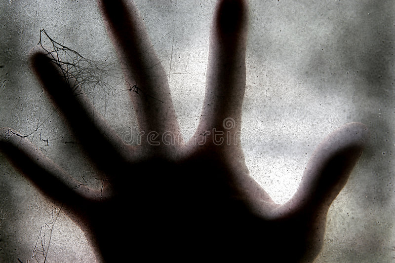 Scary hand royalty free stock photo