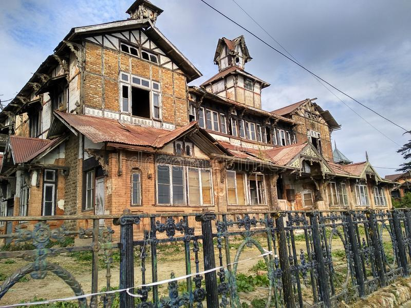 Scary house. 5 deaths have been occurred here royalty free stock photos