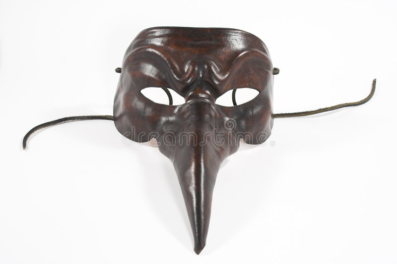 Scary mask royalty free stock photography