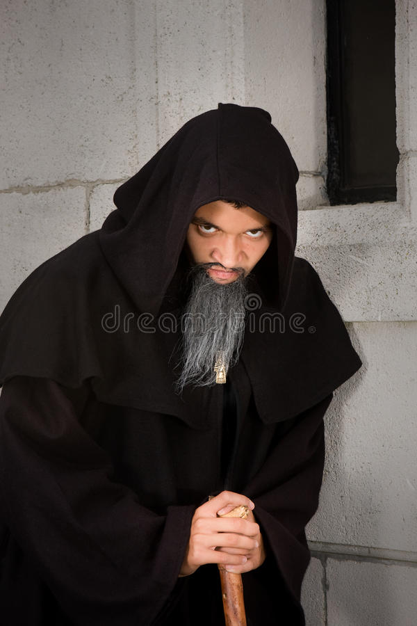 Download Scary monk stock image. Image of dark, cloak, scary, robe - 11175191