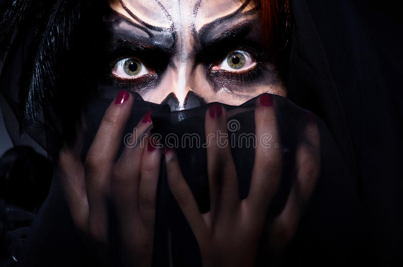 Scary Monster Royalty Free Stock Image