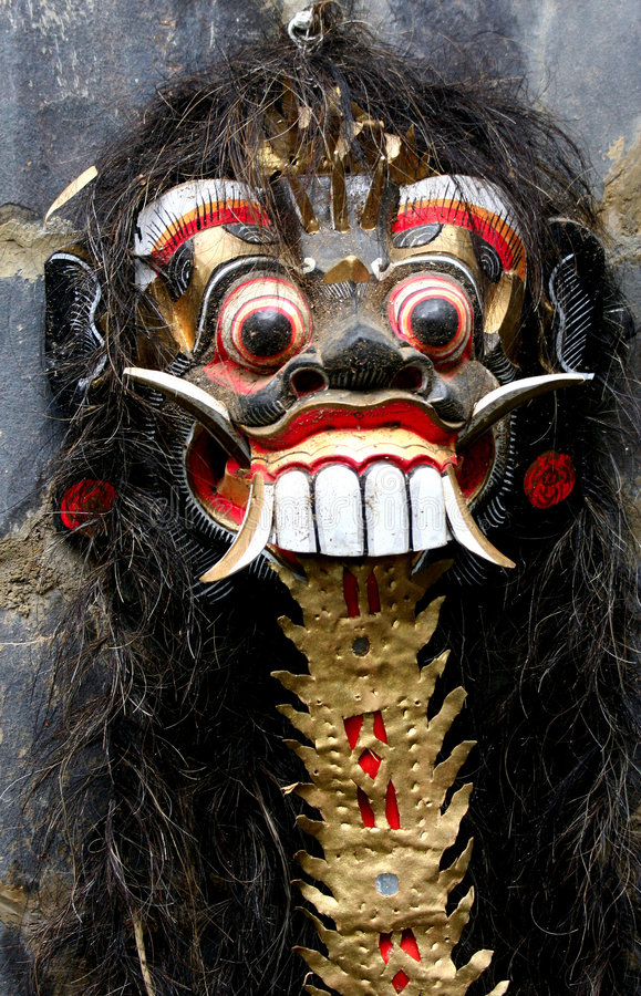 Free Scary Painted Mask Royalty Free Stock Photo - 1747925
