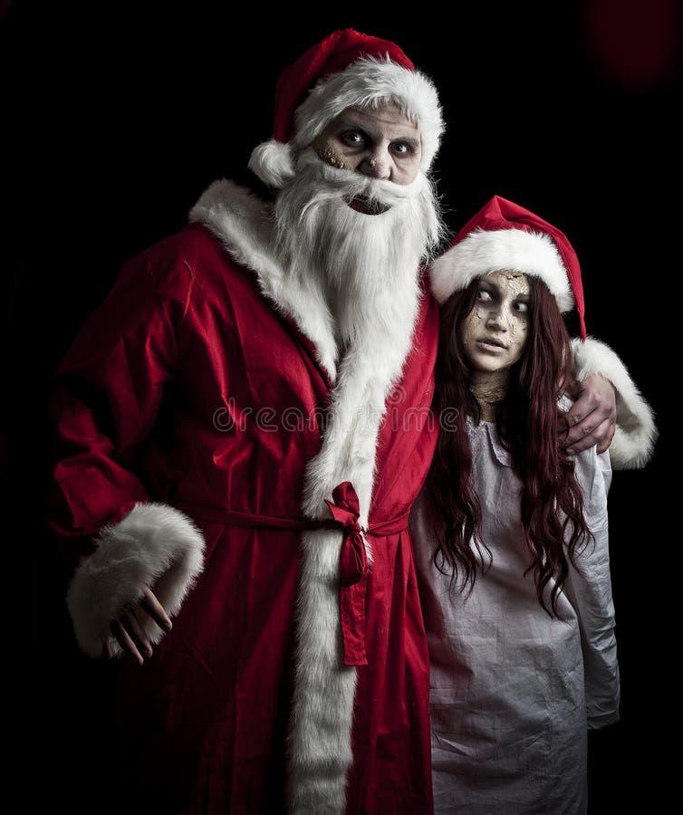 Scary Santa Stock Photo Image Of Evil Nightmare