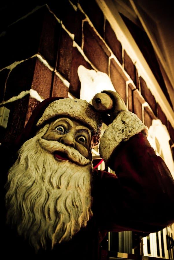 Scary Santa Royalty Free Stock Photography
