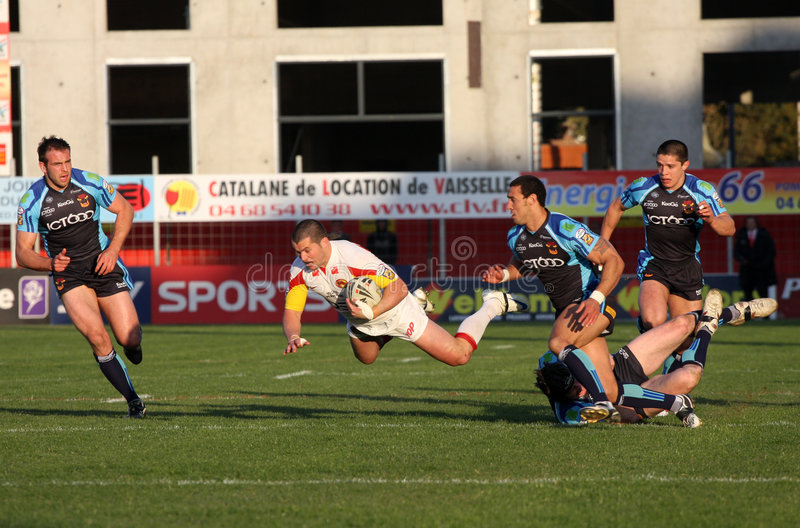 Download SCatalans Dragons Vs Bradford Bulls Editorial Photography - Image: 8887457