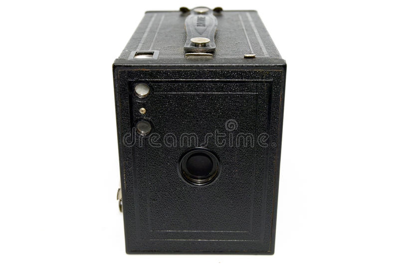 Scatola Brownie Camera fotografie stock
