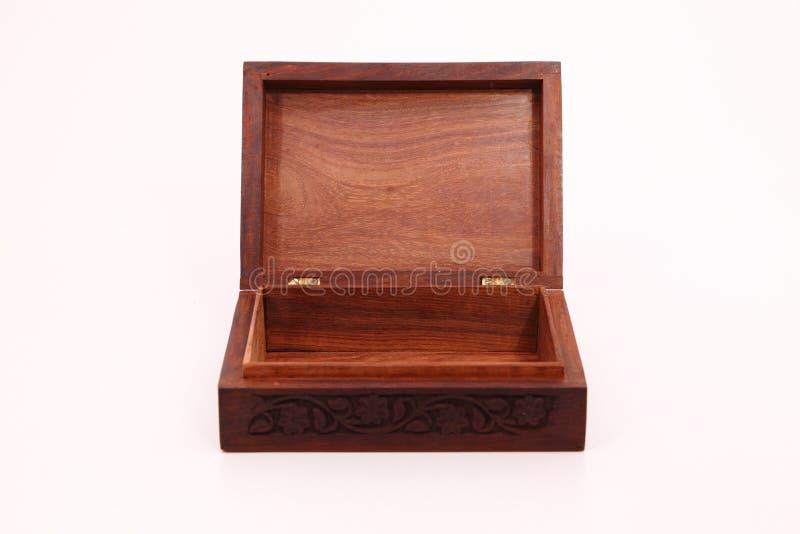 Scatola di legno immagine stock libera da diritti