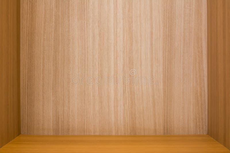 Scatola di legno o parete di legno strutturata fotografia stock libera da diritti