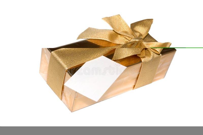 Scatola di regalo di cioccolato immagine stock