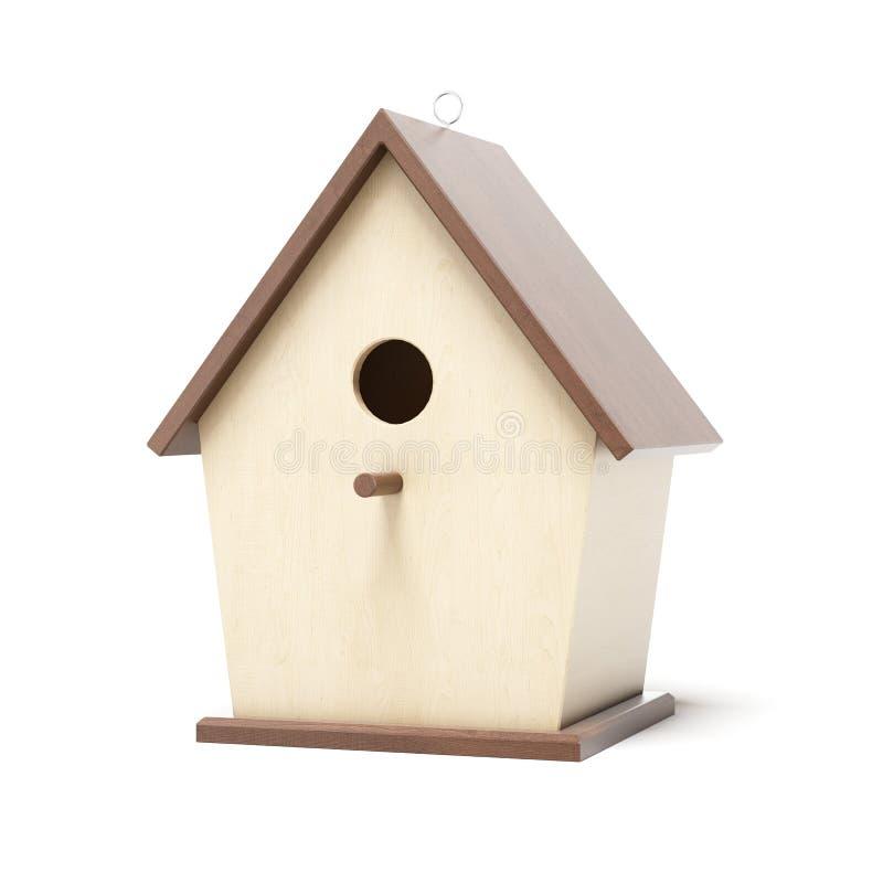 Scatola di uccello di legno royalty illustrazione gratis