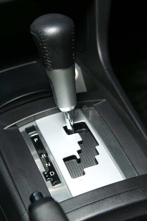 Scatola ingranaggi dello spostamento dell'automobile fotografia stock