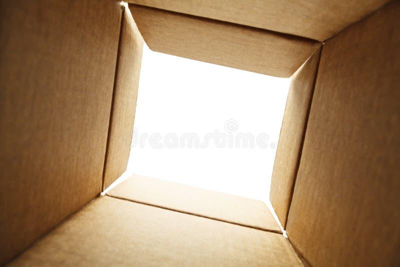 scatola interna fotografie stock libere da diritti