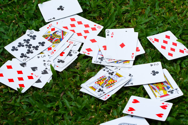 Download Scattered Deck of Cards stock photo. Image of deck, aces - 8553240