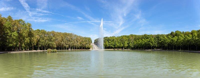 Octogone in Parc de Sceaux in summer - Hauts-de-Seine, France royalty free stock photography