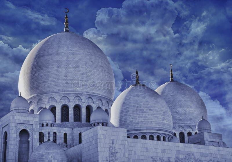 Sceicco Zayed Moqsue immagini stock