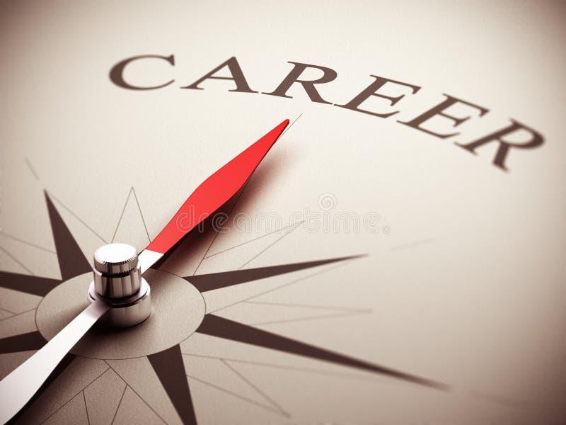 Scelta dell'orientamento di carriera illustrazione di stock