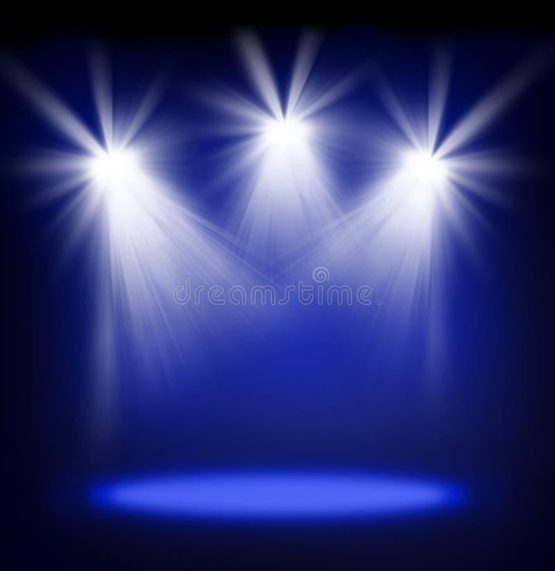 Scen światła zdjęcie royalty free