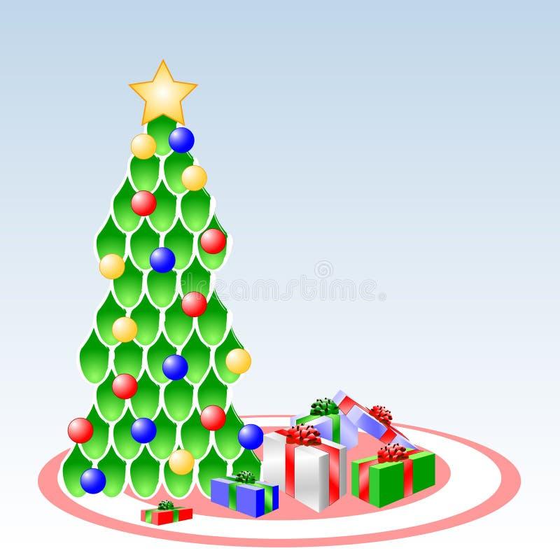 scena świąteczne ilustracja wektor