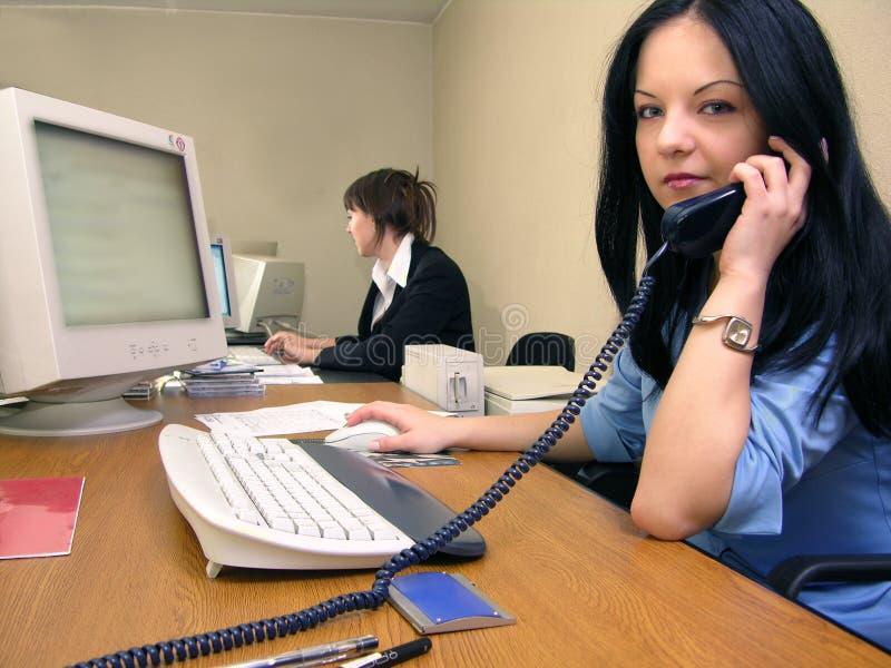 Scena 2 dell'ufficio immagini stock libere da diritti