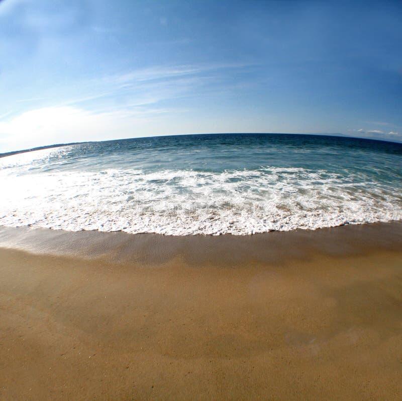 Scena 2 della spiaggia fotografie stock libere da diritti