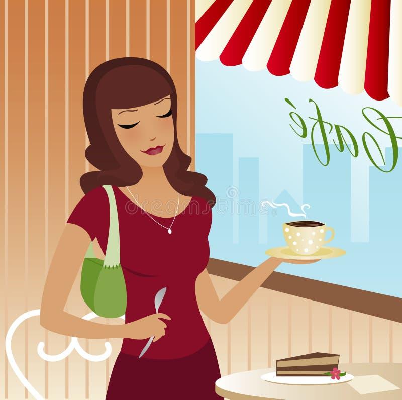 scena cukierniana ilustracji