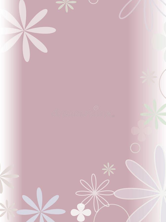 Scena del fiore illustrazione vettoriale