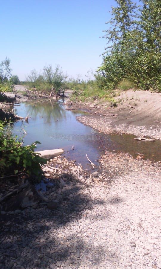 Scena del fiume fotografia stock libera da diritti