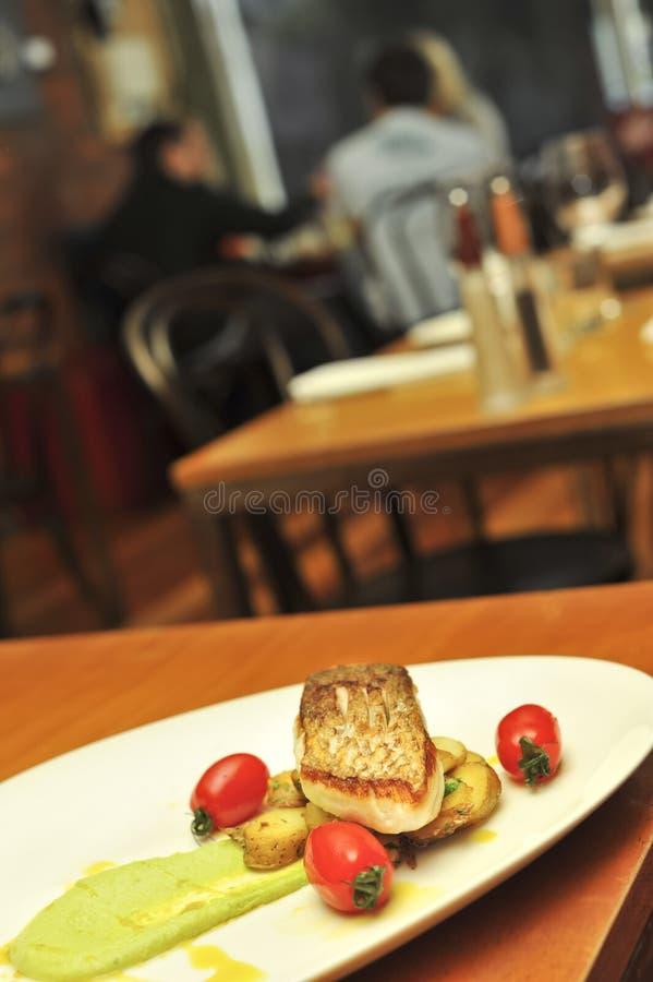 Scena del ristorante fotografia stock libera da diritti